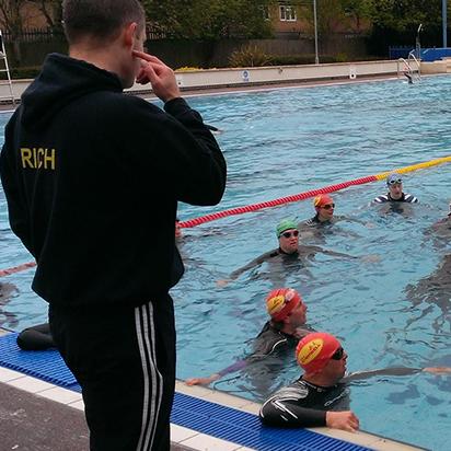 Sibford school training weekend team cherwell triathlon club for Banbury swimming pool timetable