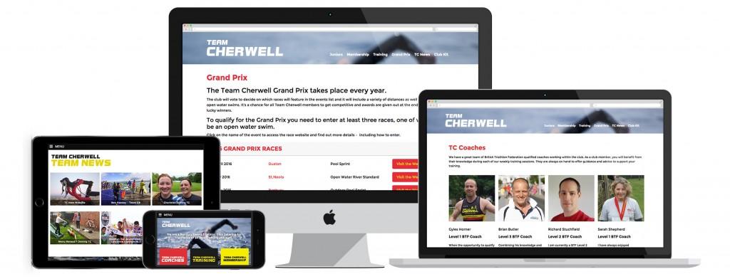 Team Cherwell WordPress